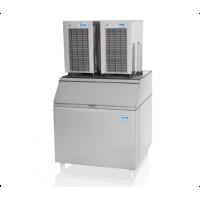 Máquina de Gelo em Escama C/  2 Depósitos 180kg ...